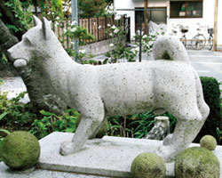 Tomb of Koko-ken, devoted dogs